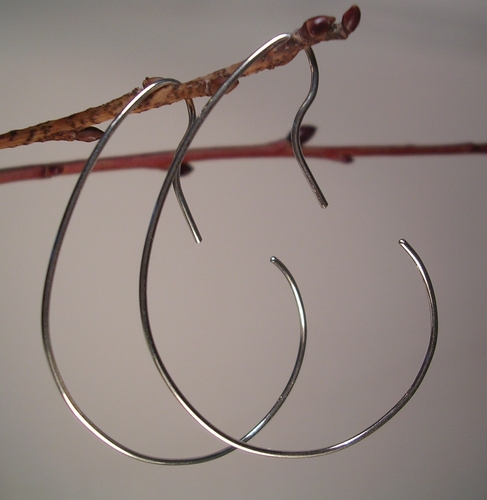 Hooked Sterling Earrings