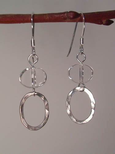 Clearly Smart Sterling Silver earrings