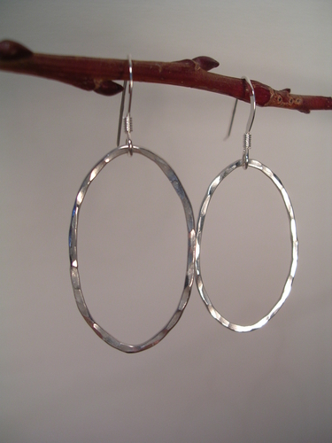 Ovalisque Sterling Silver earrings