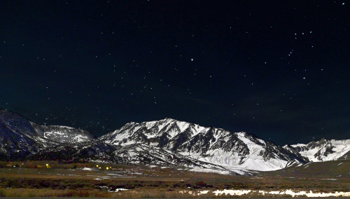 Starry Night, Sierra Nevada RAnge