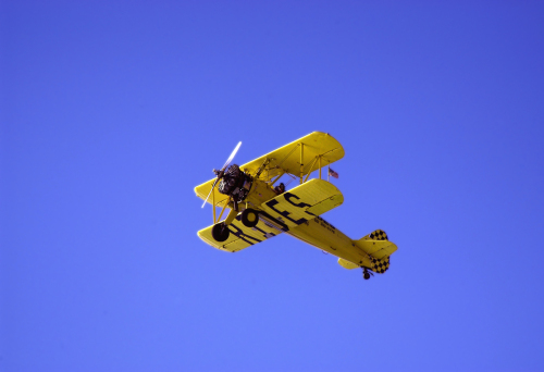 1943 STEARMAN PISMO BEACH by SIGHTLINE IMAGERY