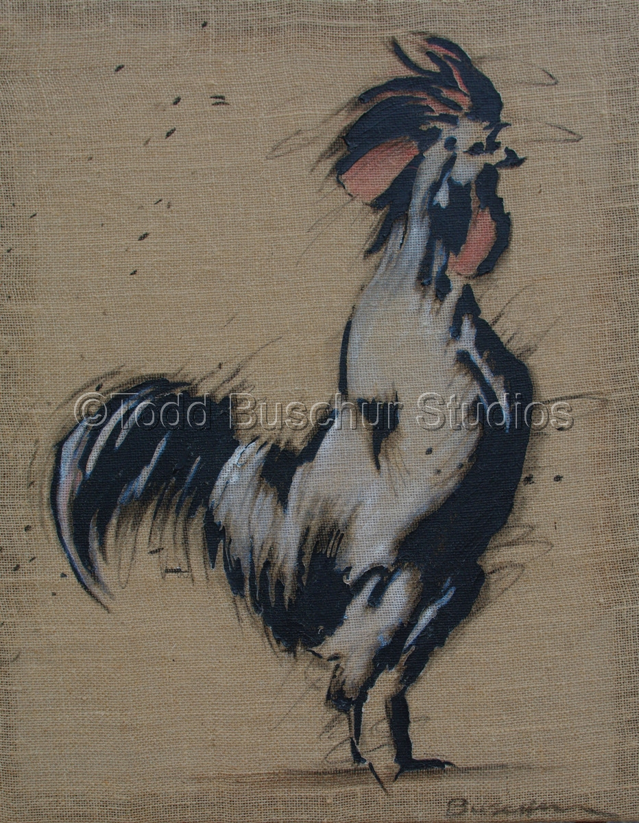 Textured Rooster (large view)