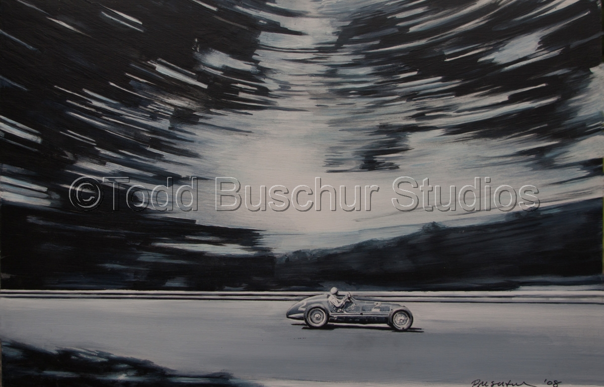 Acrylic Paintings: Speed by Todd Buschur Studios
