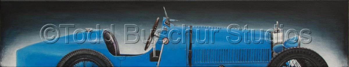 Blue Bugatti (large view)