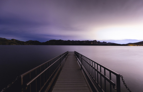 Saguaro Lake 4:36am