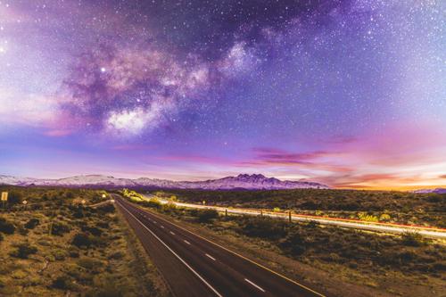 Beeline Milky Way