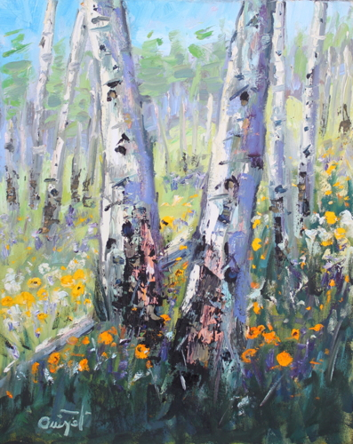 Crested Butte Aspens by Terry Ouimet Fine Art