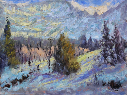 SOLD Winter Light, Ouray Back Country, CO