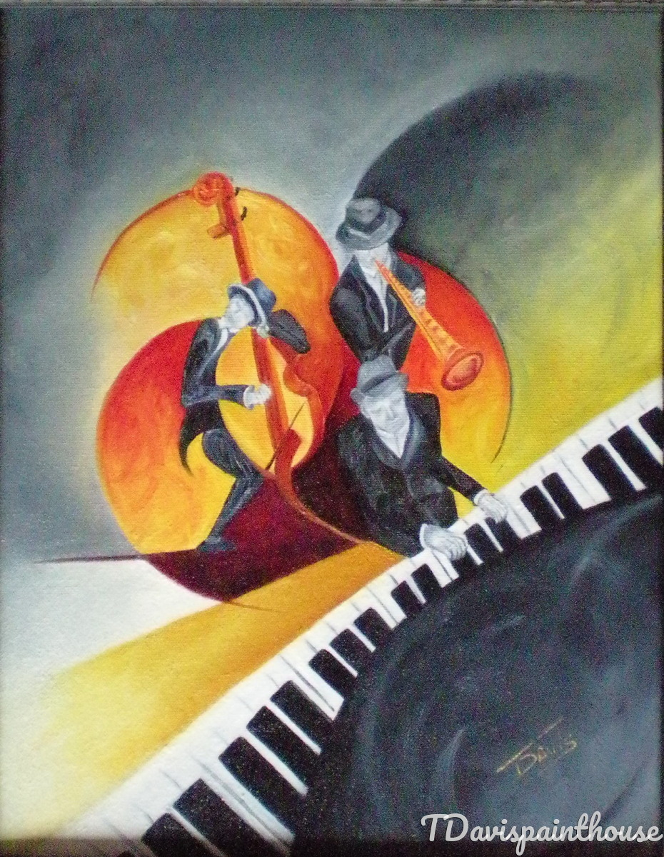 Jam Session / Oil Painting / Jazz (large view)