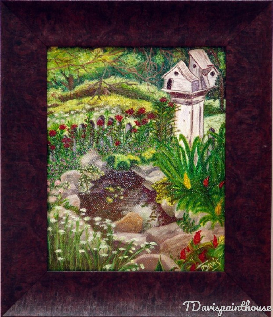 "Landscape Original Oil - ""The Quiet ""Place"" (large view)"