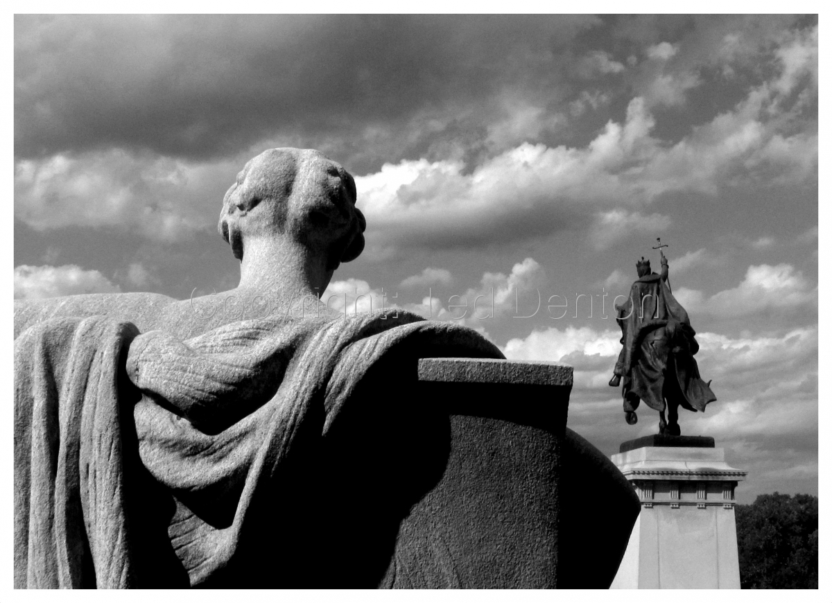 black & white photography, St. Louis, Missouri (large view)