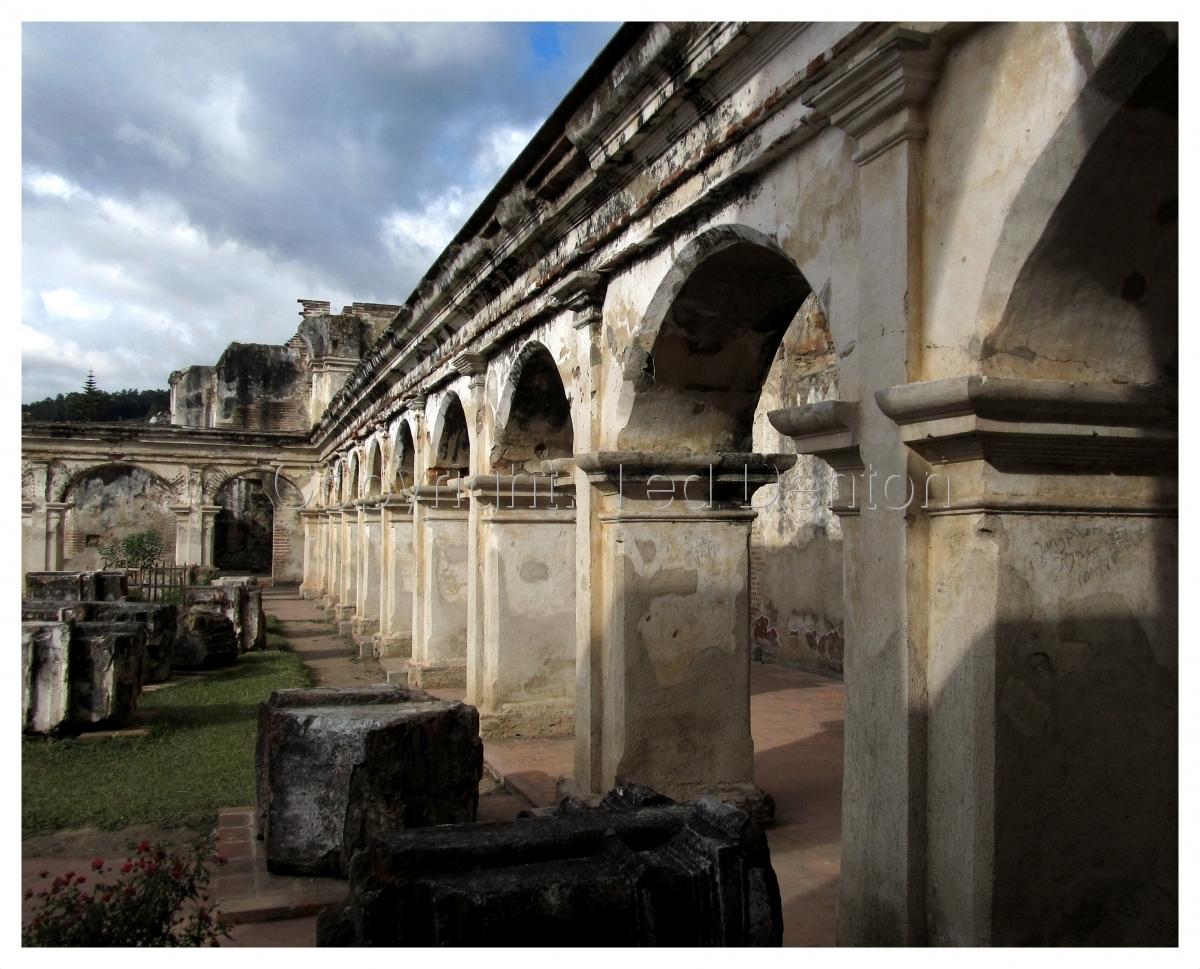Photography, Ruins of Santa Clara, Antigua, Guatemala (large view)