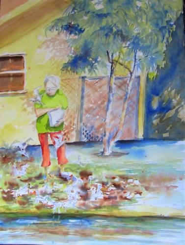 waterfoul whisperer by william yerkes