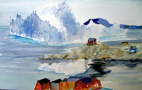 The Iceberg Cometh Too