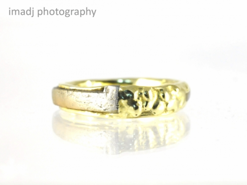 Iron Nail & Gold Ring