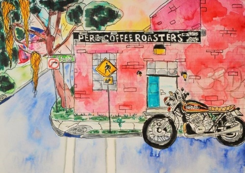 Coffee and Cafe Racer