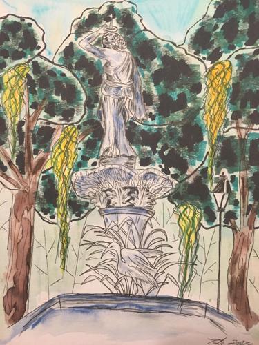 Forsyth Fountain Study
