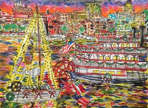 Savannah River Boat Parade