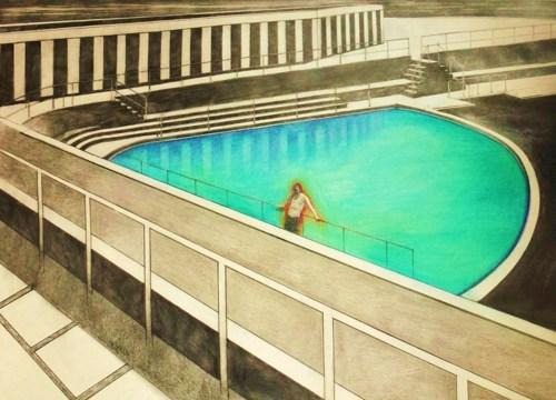 Blue Pool by Teresa Lawler