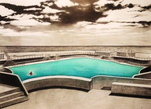 Blue Pool 2 by Teresa Lawler