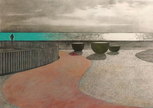 Shoreline Curve by Teresa Lawler