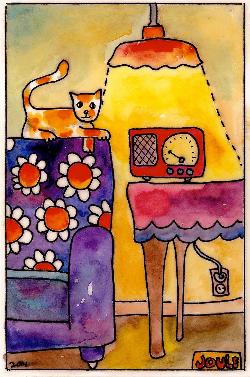 Radio Cat (large view)