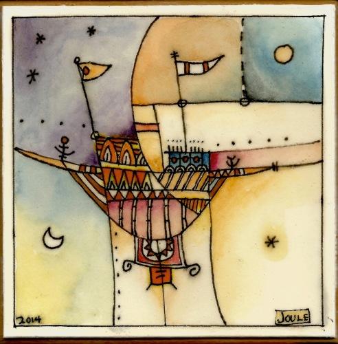 Star Ship by Terrance McIlrath