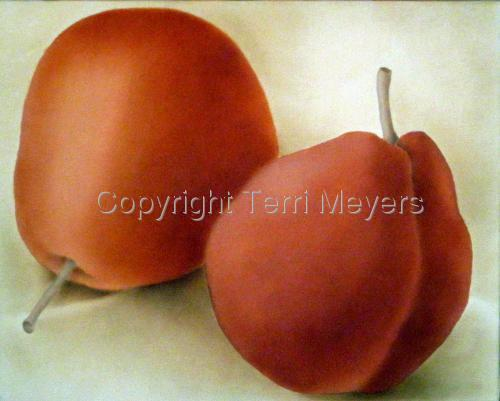 Orange Pears