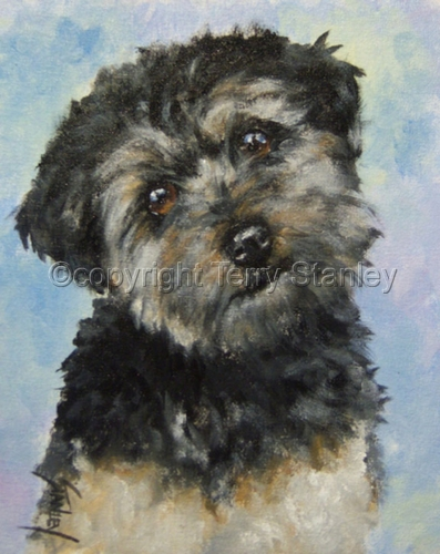 Teddy by Art by Terry Howell Stanley