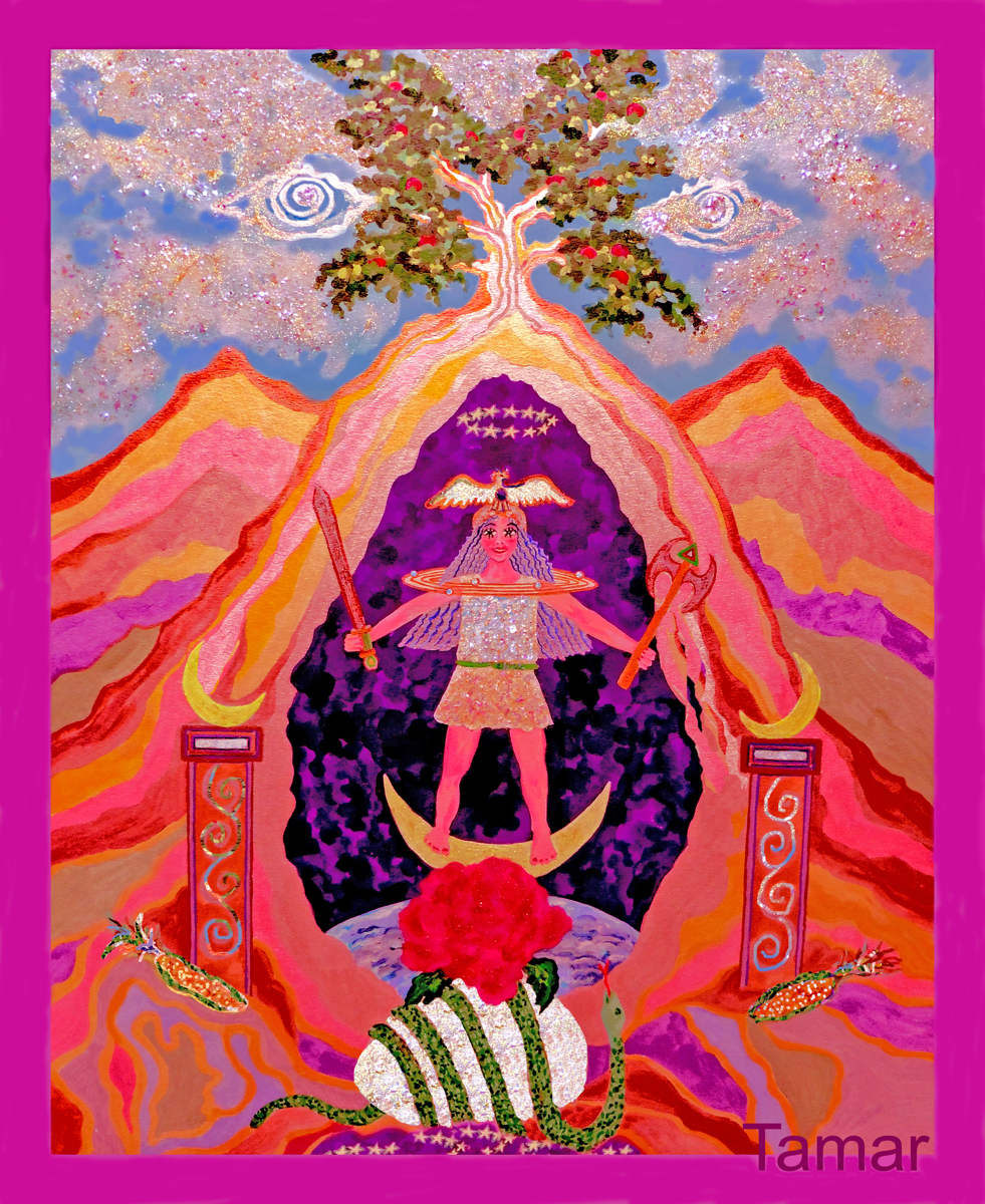 Divine Goddess Return (large view)