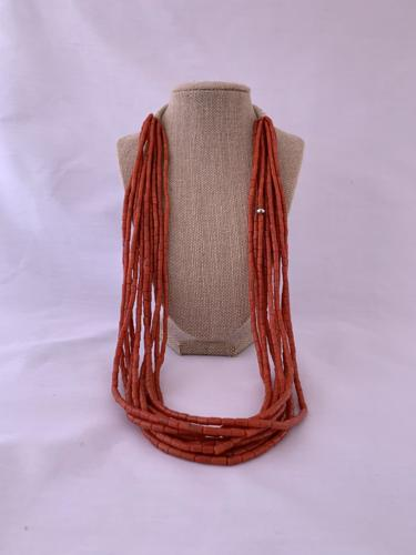 10 Strand Italian Coral Necklace by Tyler Glasses