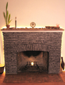 greystone finish fireplace (thumbnail)