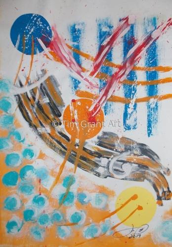 Bass (ba-se) by Tim Grant Art