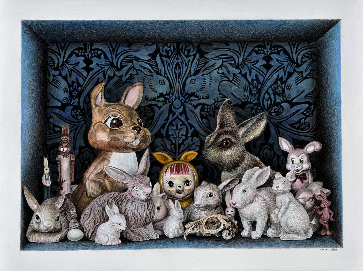 A Proliferation of Rabbits (large view)