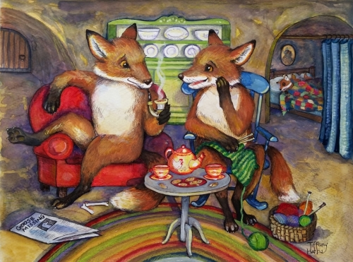Fireside Chat with Mr. & Mrs. Fox