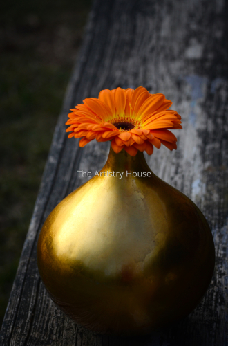 Golden Vase by The Artistry House