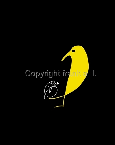 Yellow Bird of Truth by frank a. l.