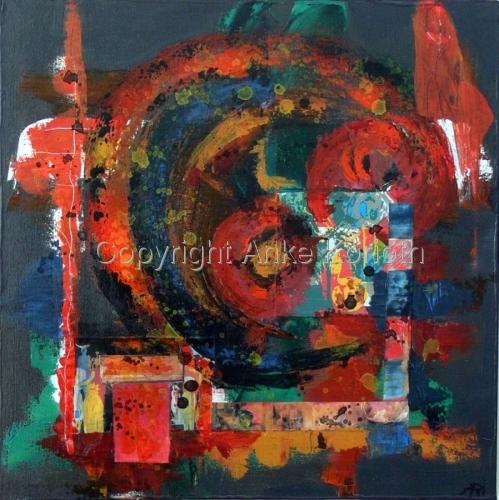 Fireworks  Nr. II by Anke Richert-Korioth