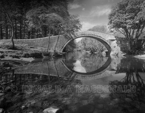 Ivlet Bridge by Donald A MacDonald