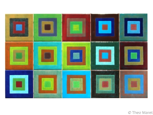 Abstract Squares Series