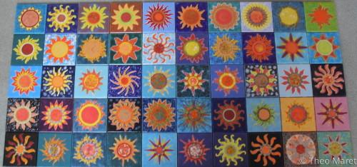 Sunbursts Series III