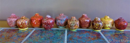 Pomegranate Paperweights