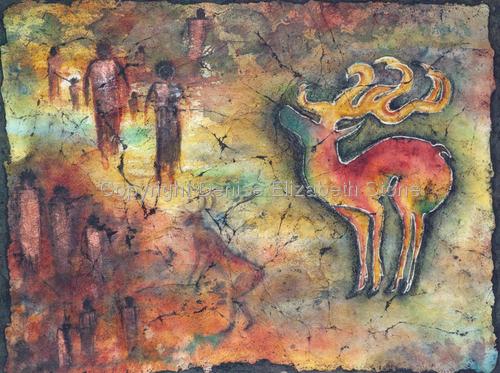 Rock Visions: Spirit Reindeer