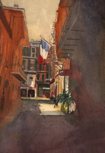 Cabildo Alley, New Orleans
