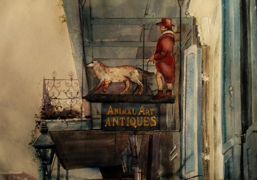 Animal Art Antiques