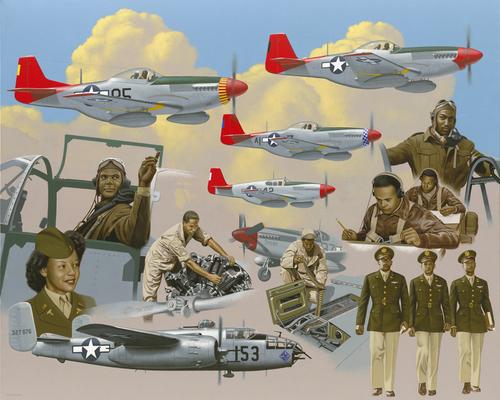 Tuskegee Airmen of World War II by Thomas Segars
