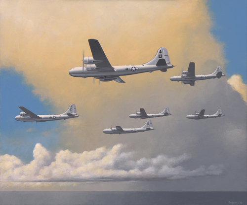 B-29s Over the Pacific