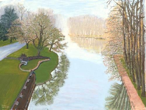 Dawn on River Seine