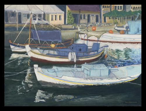 Fishing Boats - Gythio
