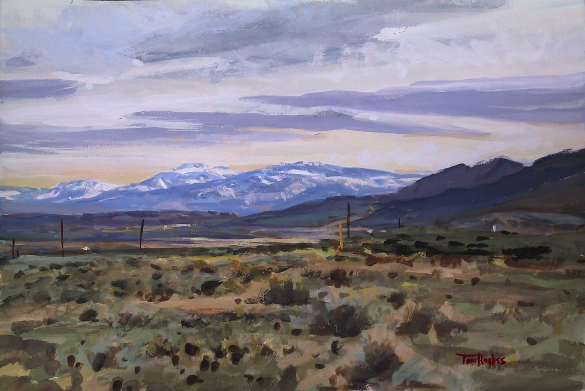 Nevada desert (large view)